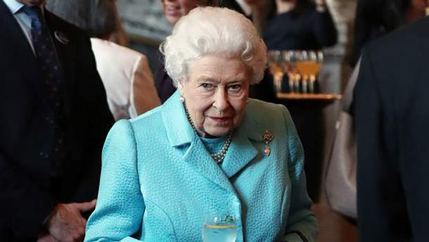Королева Єлизавета ІІ на урочистому заході