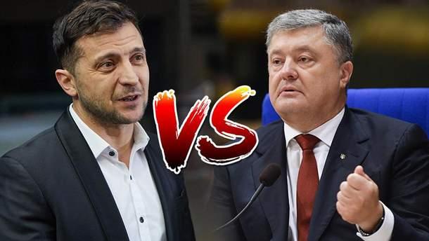 Дебати Зеленського з Порошенком перед другим туром виборів