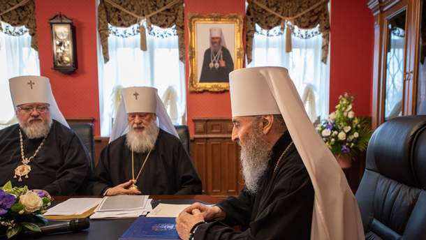 Томос для Украины: УПЦ Московского патриархата просит отменить Томос