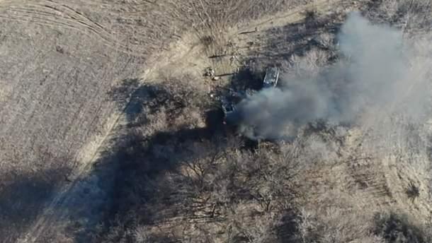 Волонтер показав відео нищівного удару ЗСУ на Донбасі