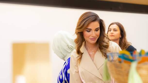 Йорданська королева Ранія