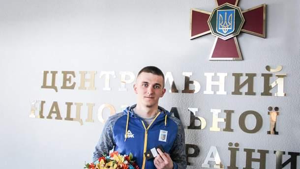 Дмитро Підручний – офіцер Нацгвардії