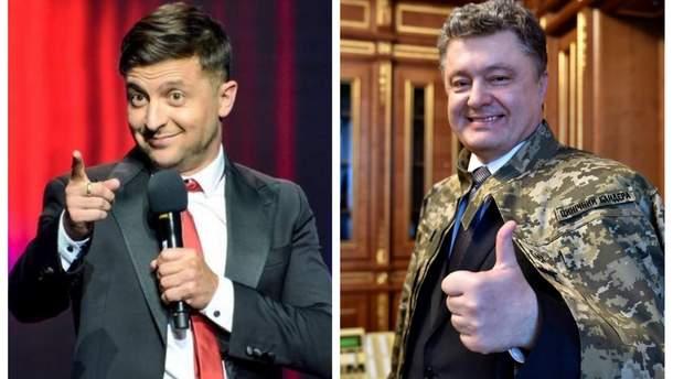 Зеленський і Порошенко з 8 квітня мають офіційне право проводити агітацію