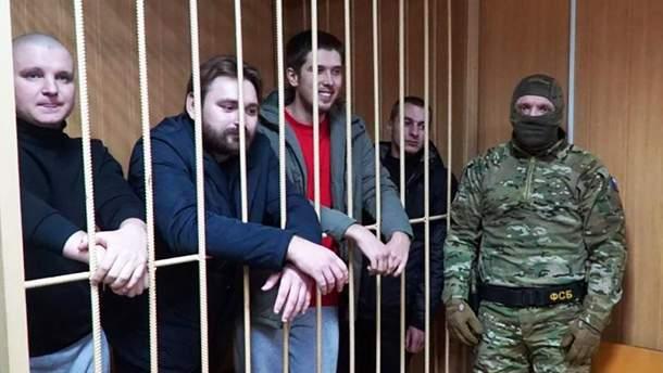 Пленных украинских моряков наградили орденами и медалями