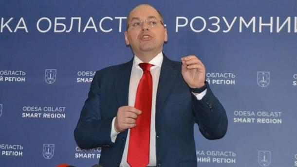 Степанов отказался покидать пост председателя Одесской ОГА