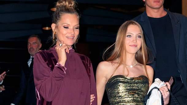 Кейт Мосс і її 16-річна донька Ліла Грейс