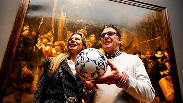 Представленя м'яча The Rembrandt