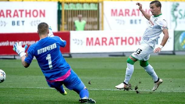 Карпаты – Черноморец: изменено время матча