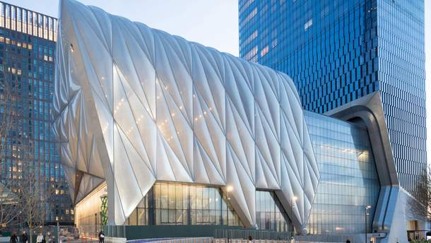 Культурний центр The Shed відкрився у Нью-Йорку