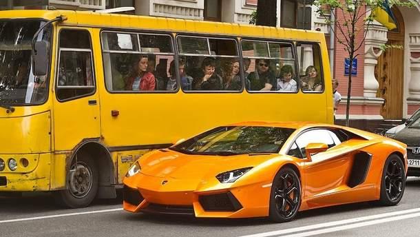 Бідні і багаті українці
