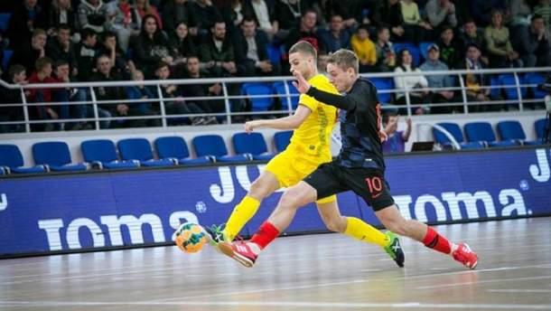 Збірна України зіграла внічию з Хорватією