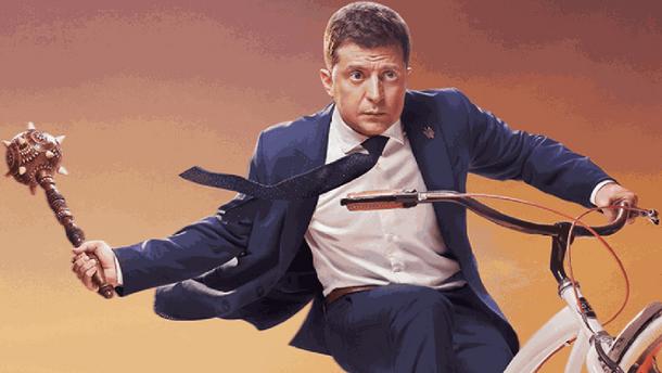Лидер первого тура выборов президента Украины Владимир Зеленский