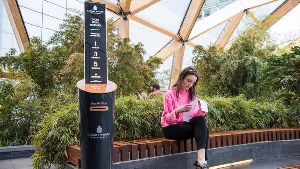 У лондонському метро встановили автомат з оповіданнями