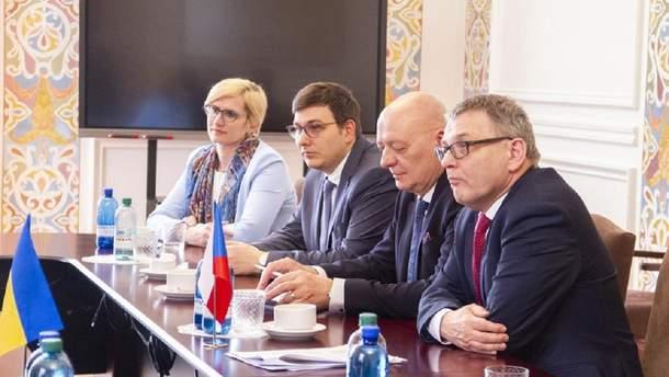 Чешские и Украинские дипломаты провели совместную встречу