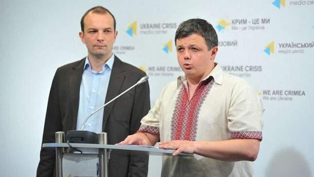 """Соболев и Семенченко выходят из """"Самопомочи"""""""