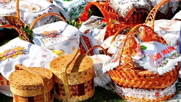 Вишитий рушник – одна із найкращих прикрас великоднього кошика