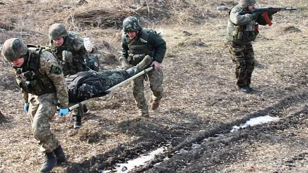 Українські військові зазнали поранень на Донбасі, проте обійшлося без втрат