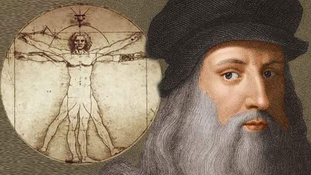Леонардо да Вінчі вправно володів обома руками