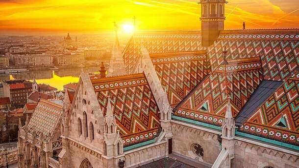 Столица Венгрии Будапешт