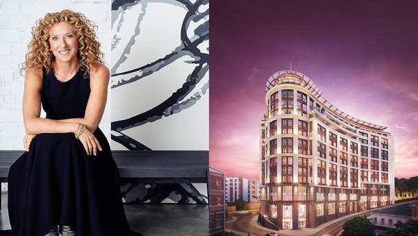 Дизайнер Келли Хоппен разработала дизайн интерьера элитного ЖК в центре Киева