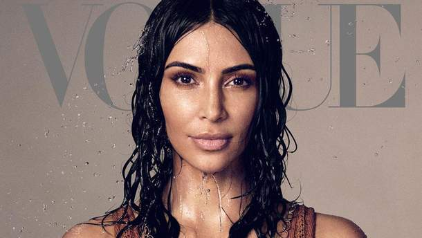 Ким Кардашян для Vogue