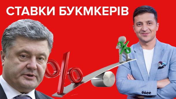 Дебати Порошенко і Зеленський 2019 - прогнози і ставки на дебати кандидатів у президенти