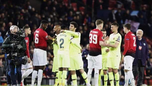 Барселона - Манчестер Юнайтед: где смотреть онлайн матч 16 апреля 2019
