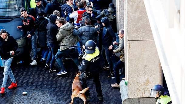 """Фани """"Ювентуса"""" влаштували безпорядки в Амстердамі – 120 затриманих: відео"""