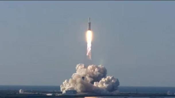 Старт Falcon Heavy