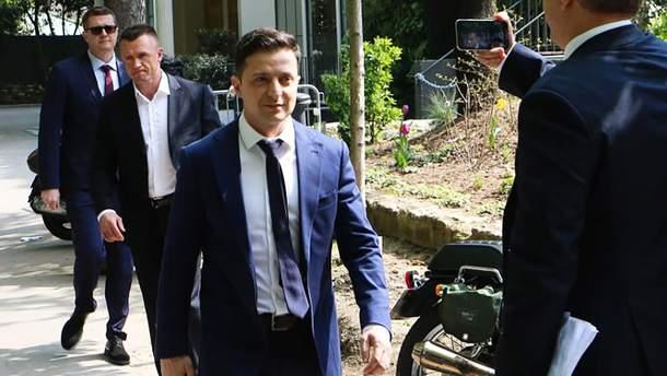 Встреча Зеленского с Макроном - видео и фото встречи 12 апреля 2019