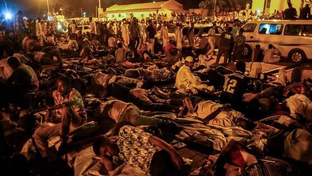 Протесты в Судане