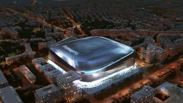 """Оновлений вигляд стадіону """"Сантьяго Бернабеу"""""""