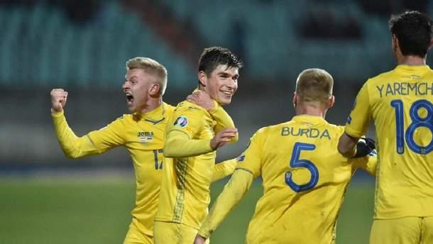 Сборная Украины по футболу сыграет товарищеский матч