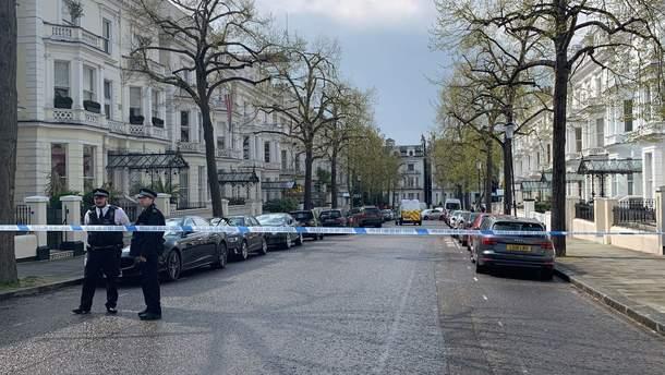 Вулиці поблизу парку Холланд у Лондоні перекрила поліція