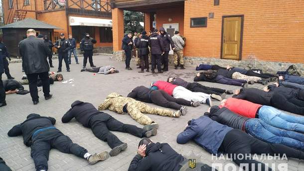 Неизвестные мужчины пытаются захватить аграрное предприятие на Киевщине
