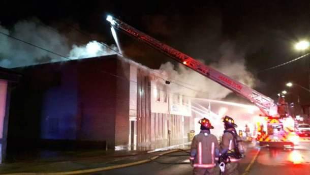 В Канаді згорів Український культурний центр