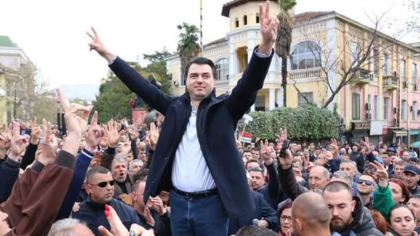 Лидер албанской оппозиции Лулзим Баша