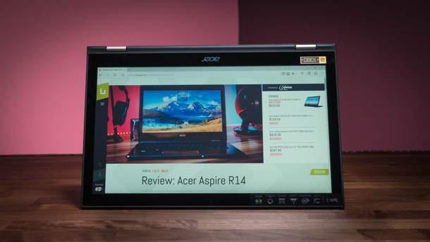 Acer Spin 3: характеристики и цена в Украине