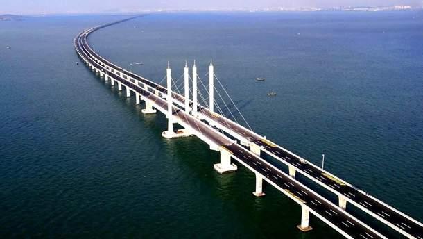 В сети показали Крымский мост совсем без автомобилей