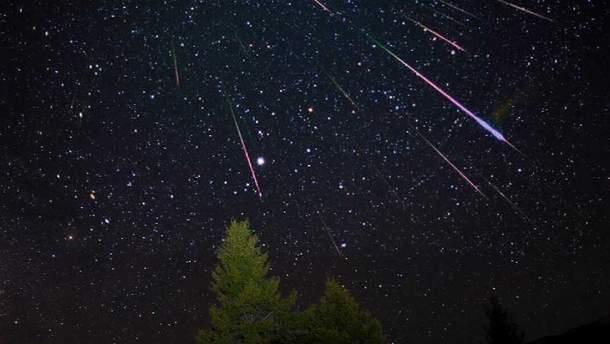 Весенний звездопад 2019 - когда будет в Украине метеоритный поток