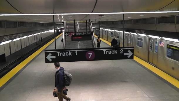Сліпого чоловіка дивом врятували у метро