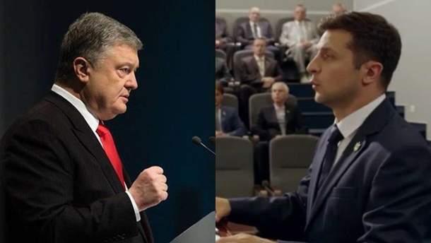 Порошенко та Зеленський: Україна ще не бачила такої боротьби за президентство