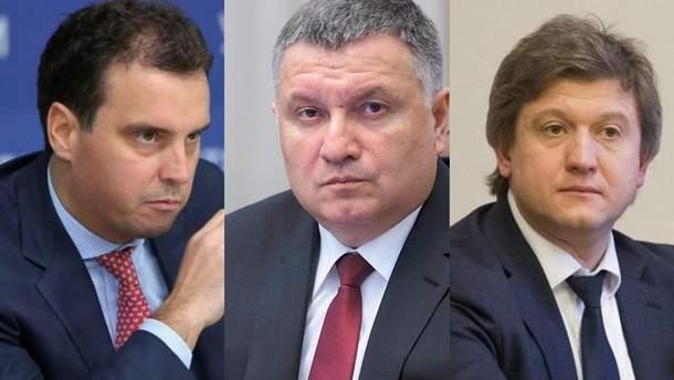 Абрамовичус, Аваков, Данилюк