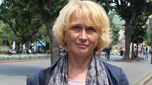 Волонтерке Светлане Подпалой в Одессе угрожают