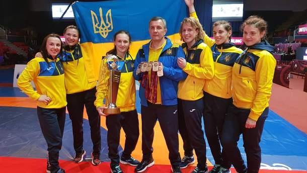 Женская сборная Украны по вольной борьбе