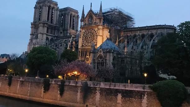 Собор Парижской Богоматери после пожара - фото как выглядит Нотр-Дам де Пари