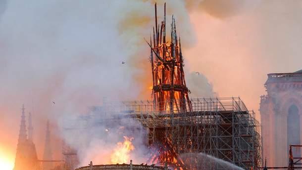 Чи відновлять Собор Паризької Богоматері після пожежі