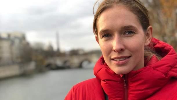 Катерина Осадча відреагувала на пожежу в Нотр-Дамі