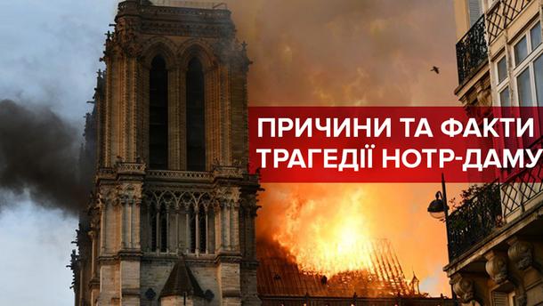 Сгорел Нотр-Дам де-Пари, Париж — причины и факты пожара в Соборе Парижской Богоматери