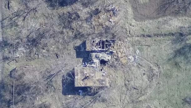 """Бійці """"Азову"""" ліквідували ворожу БМП на Донеччині"""